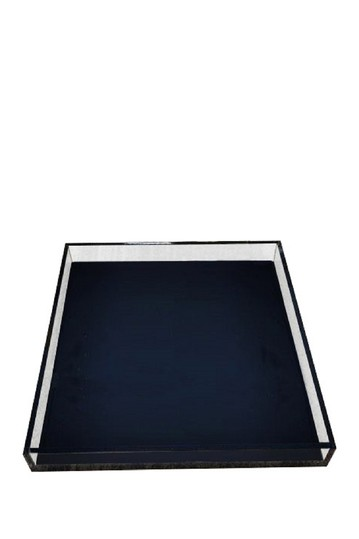 Black Large Tray R16 HOME