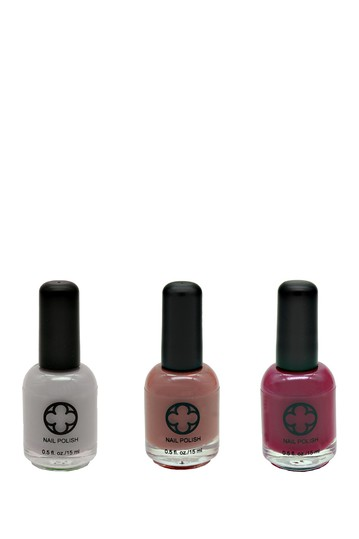 3-Piece Nail Polish Set - Rock Star Glamour Status