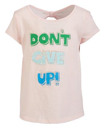 Little Girls Graphic-Print Bow-Back T-Shirt, Created for Macy's Ideology