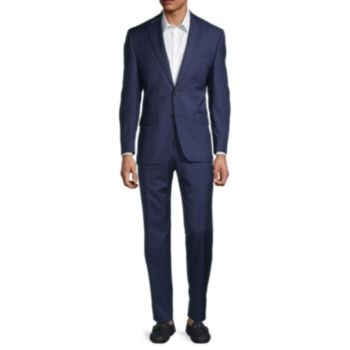 Windowpane Wool-Blend Suit LAUREN Ralph Lauren