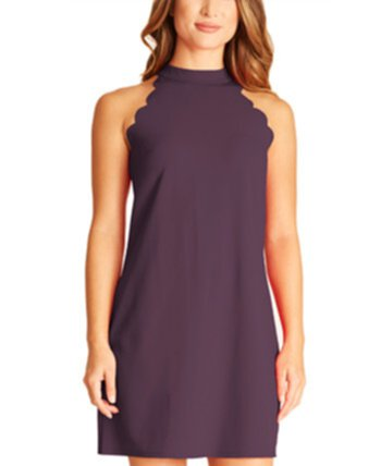 Juniors' Scalloped Dress BCX