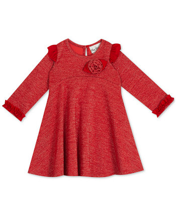 Baby Girls Lurex Long-Sleeve Dress Rare Editions