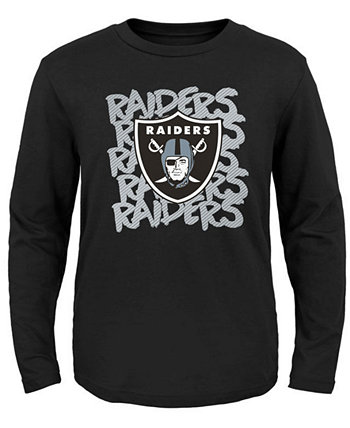 Oakland Raiders Graph Repeat T-Shirt, Toddler Boys (2T-4T) Outerstuff