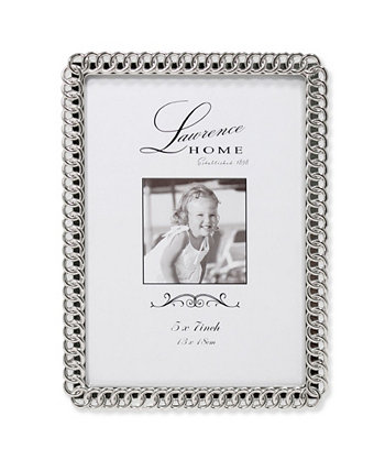 """Eternity Rings Metal Picture Frame - 5"""" x 7"""" Lawrence Frames"""