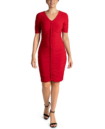 Ruched Bodycon Dress Julia Jordan