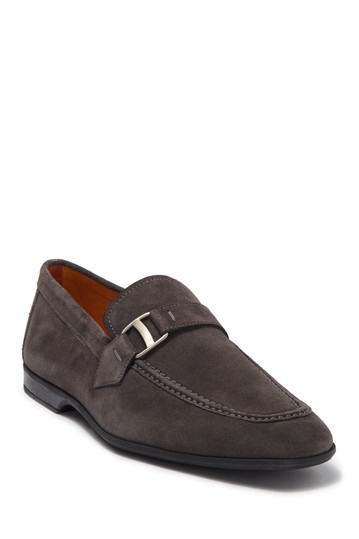 Tonic Suede Buckle Loafer Magnanni