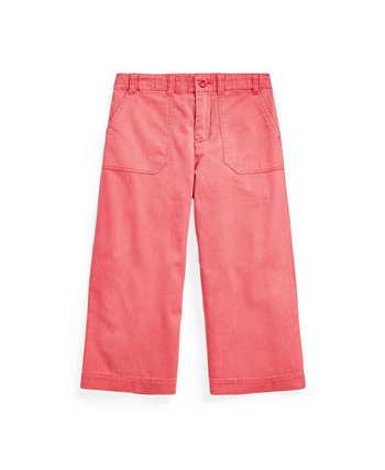 Toddler and Little Girls Cropped Chino Pant Ralph Lauren