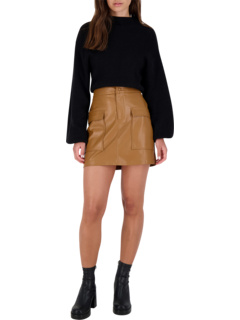 Leather Too Late Skirt BB Dakota