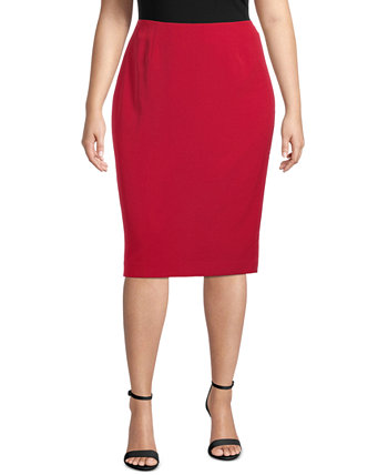 Plus Size Skimmer Skirt Kasper