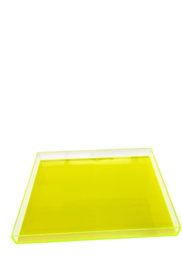 Neon Green Large Tray R16 HOME