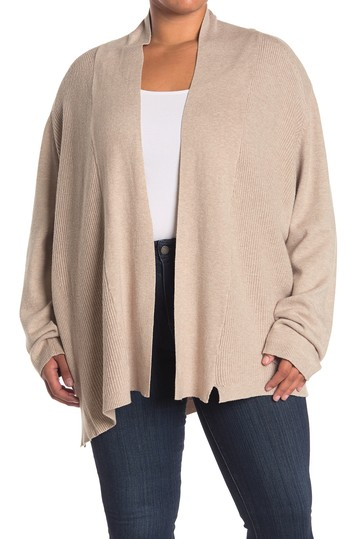 Shawl Collar Cardigan (Plus Size) Devotion By Cyrus