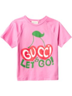 Футболка Let's Go (для младенцев) Gucci Kids