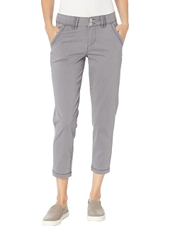 Flora Chino Crop Jag Jeans