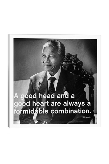 Nelson Mandela Quote by Unknown Artist No brands