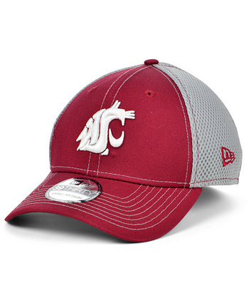 Washington State Cougars 2 Tone Neo Stretch Fitted Cap New Era