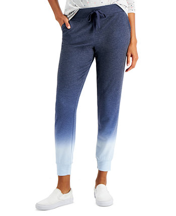 Petite Ombré Jogger Pants, Created for Macy's Style & Co