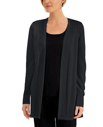 Open-Front Cardigan, Created for Macy's J&M Collection