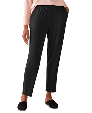 Slouchy Cropped Pants Eileen Fisher