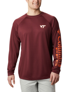 Рубашка с длинным рукавом Virginia Tech Hokies Terminal Tackle ™ Columbia College