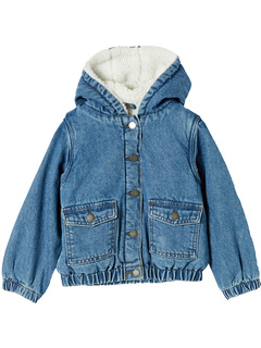 Dua Denim Hooded Jacket (Toddler/Little Kids/Big Kids) COTTON ON