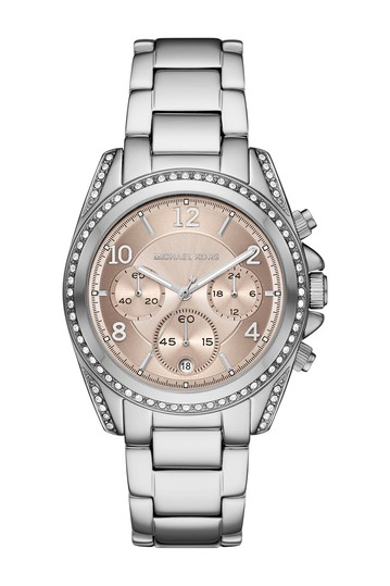 Women's Blair Chronograph Stainless Steel Watch, 39mm Michael Kors