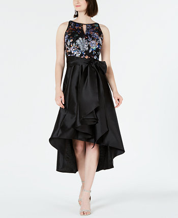 Embellished High-Low Gown R & M Richards