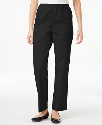 Classics Twill Pull-On Pants Alfred Dunner