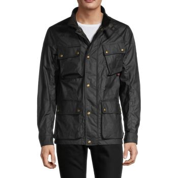 Stand-Collar Cotton-Blend Jacket BELSTAFF