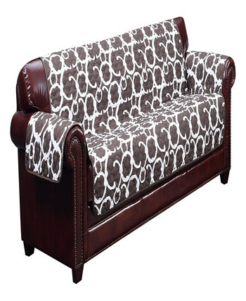 """Rhys 114"""" x 75"""" Water Resistant Sofa Cover Duck River Textile"""