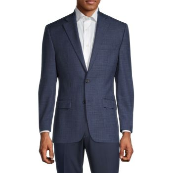 Regular-Fit Plaid Sportcoat LAUREN Ralph Lauren
