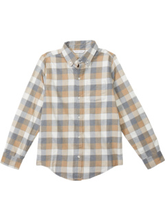 Long Sleeved Button-Up (Toddler/Little Kids/Big Kids) Janie and Jack