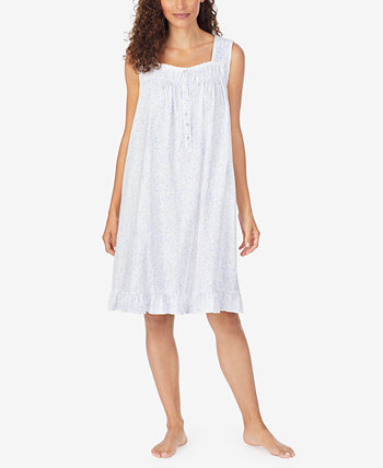 Cotton Jersey Chemise Nightgown Eileen West