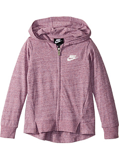 A-Line Full Zip Hoodie (Little Kids) Nike Kids