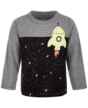 Baby Boys Rocket Pocket T-Shirt, Created for Macy's First Impressions