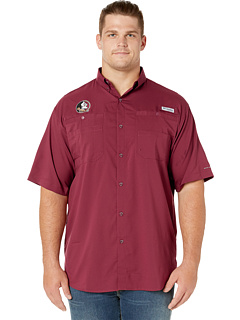 Big & Tall Florida State Seminoles Collegiate Tamiami™ II Short Sleeve Shirt Columbia College