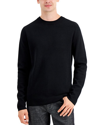 Men's Solid Milano Sweater, Created for Macy's DKNY