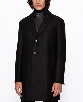 BOSS Men's Nadim4 Slim-Fit Coat BOSS Hugo Boss