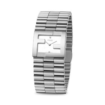 Fendimania Stainless Steel Bracelet Watch Fendi Timepieces