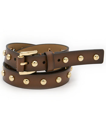 25MM STUDDED TIE BELT Michael Kors