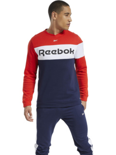 Training Essentials Logo Fleece Crew Reebok