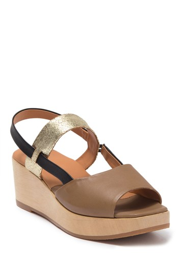 New Kinta Leather Platform Wedge Sandal Rachel Comey