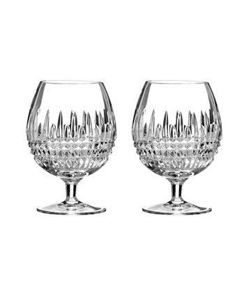 Lismore 16 oz Diamond Brandy Glass, Set of 2 Waterford