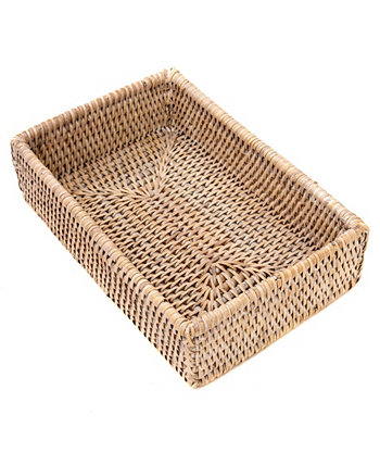 Rattan Guest Towel and Napkin Holder Artifacts Trading Company