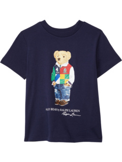 Short Sleeve Jersey T-Shirt (Little Kids/Big Kids) Ralph Lauren