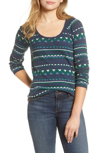 Футболка Multi Fairisle Thermal Lucky Brand