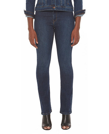 Women's Mid-Rise Straight Jeans Lola Jeans