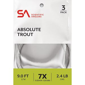 Scientific Anglers Absolute Trout - 7.5' Scientific Anglers