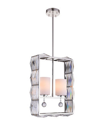 CLOSEOUT! Squill 2 Light Chandelier CWI Lighting