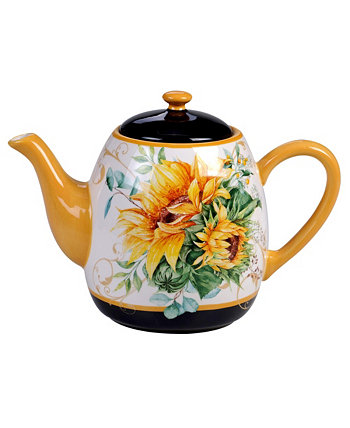 Sunflower Fields Teapot Certified International