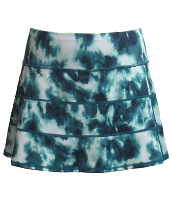 Plus Size Tie-Dyed Tiered Skort, Created for Macy's Ideology